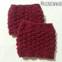 Boot Cuff Love | Easy Knit Pattern