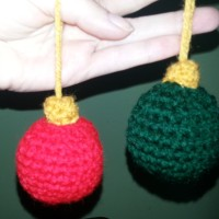 'Bauble' Ornaments | Crochet Pattern