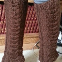 'Cozy' Cable Leg Warmers | Knit Pattern