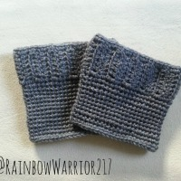 Classic Crochet Boot Cuff Pattern