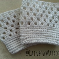 Lace Boot Cuffs | Crochet Pattern