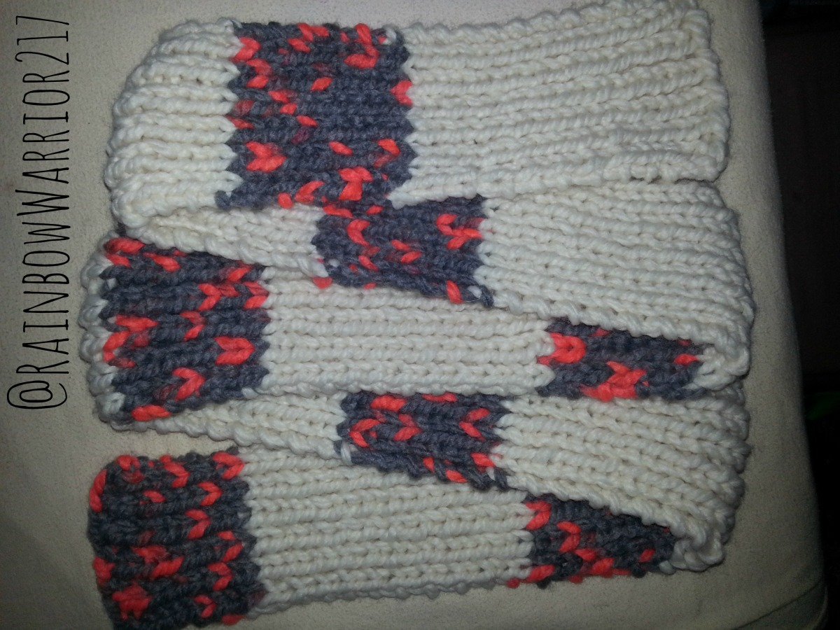 Classic Scarf | Easy Knit Pattern