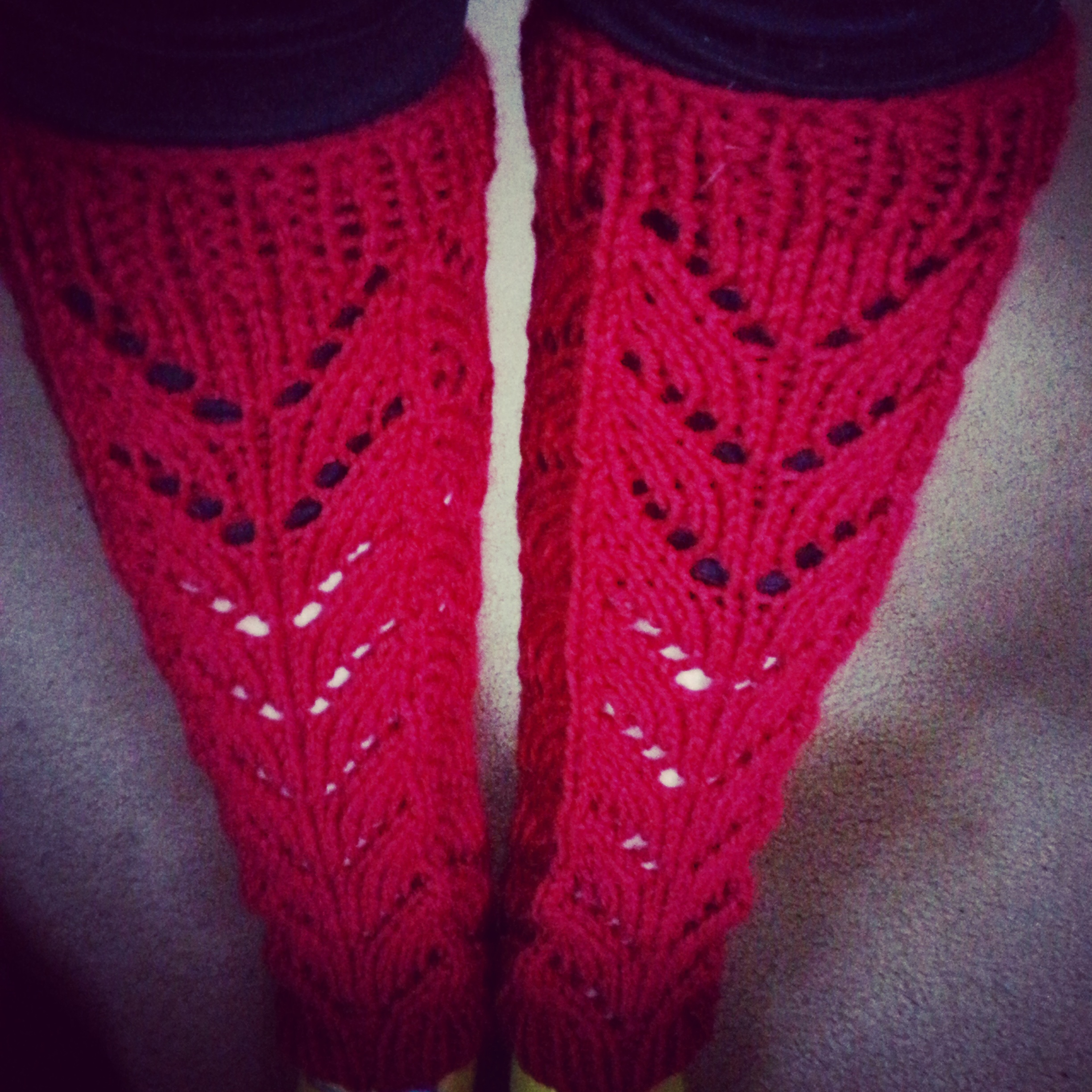Lace leg warmers pattern knit tutorial rainbow warrior img20150209172224 img20150210181023 bankloansurffo Image collections