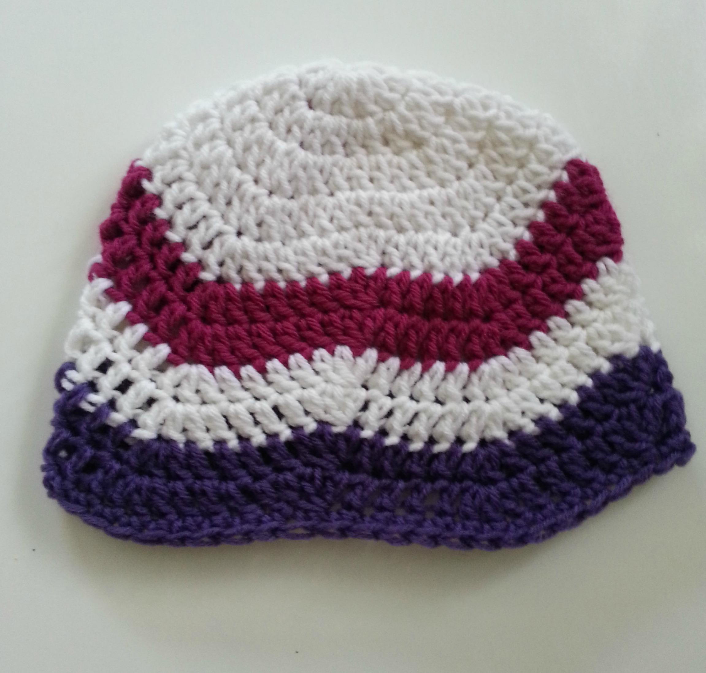Chevron beanie easy crochet pattern tutorial rainbow warrior ccb2 bankloansurffo Image collections