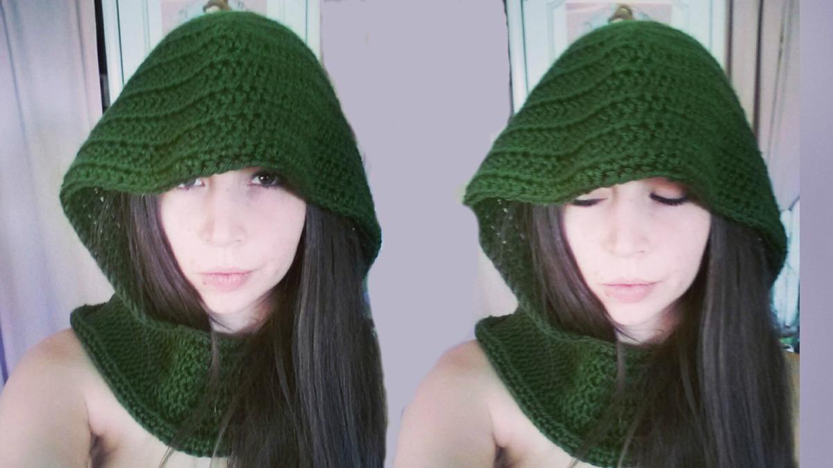 'Tauriel' Elf Hood | Crochet Pattern