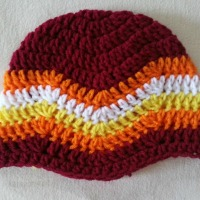 Chevron Beanie | Easy Crochet Pattern & Tutorial