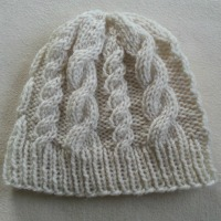 Cable Beanie | Easy Knit Pattern & Tutorial