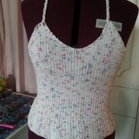 Knit Halter Top | Easy Pattern