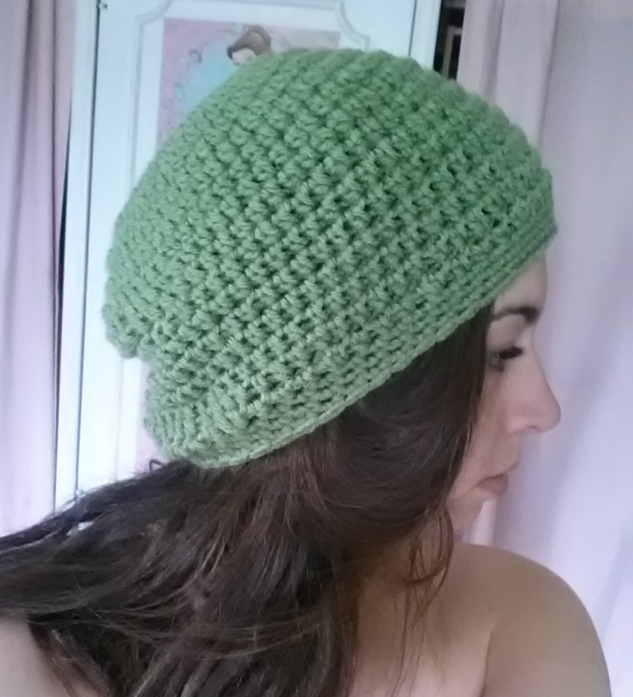 Slouchy beanie easy crochet pattern rainbow warrior bankloansurffo Image collections