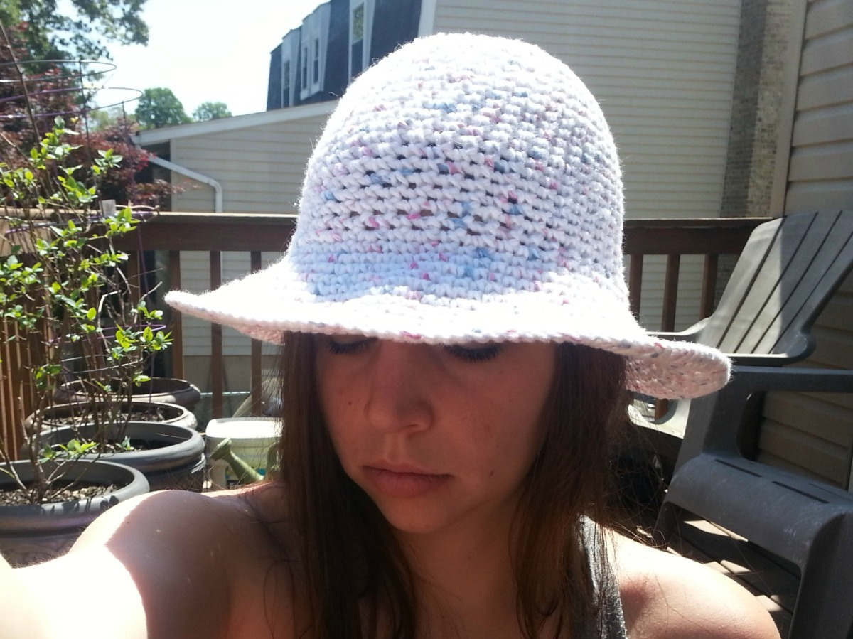 Sun Hat | Easy Crochet Pattern