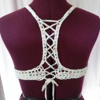Criss-Cross Top | Crochet Bikini/Bra