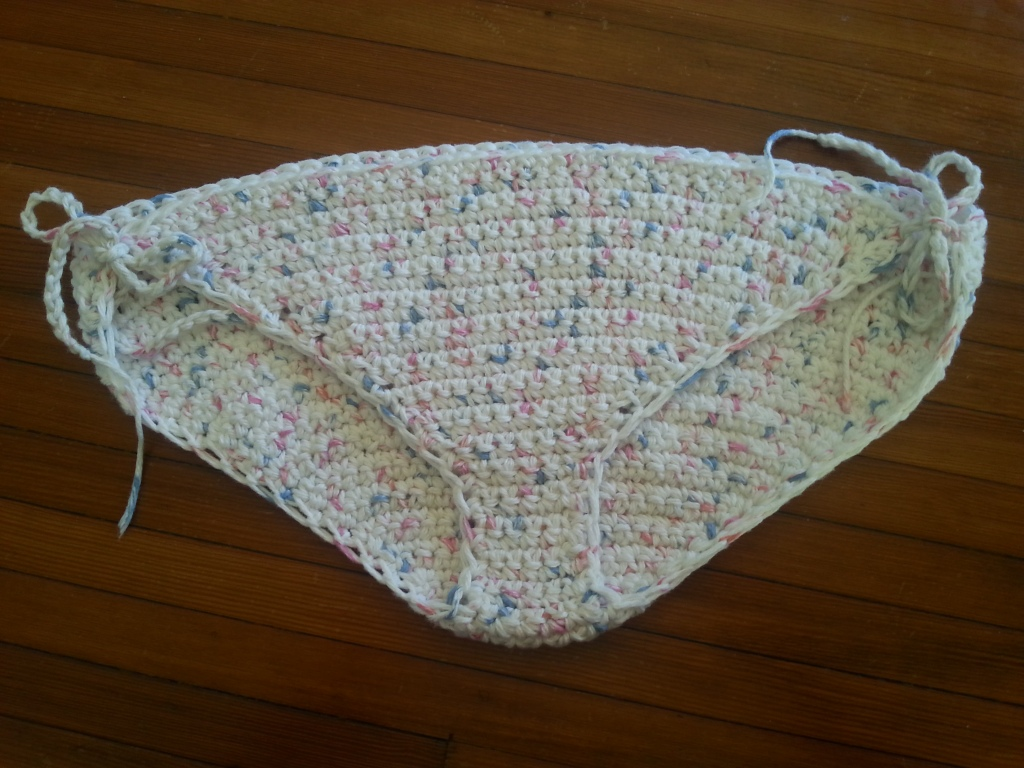 Crochet Bikini Bottom | Rainbow Warrior
